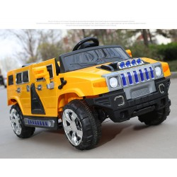 HUMMER H 4Χ4 12V YELLOW FULL OPTIONS SOLD OUT
