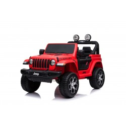 JEEP WRANGLER RUBICON 4X4 12V RED FULL OPTIONS