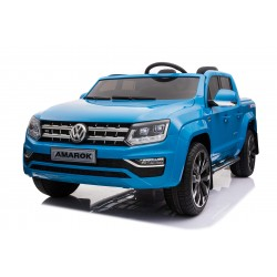 VOLKSWAGEN AMAROK 4X4 12V DOUBLE SEAT 2 BATTERIES BLUE PAINTING FULL OPTIONS SOLD OUT COMING SOON