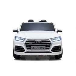 AUDI Q5 S-LINE 24V LICENSE DOUBLE SEATS WHITE