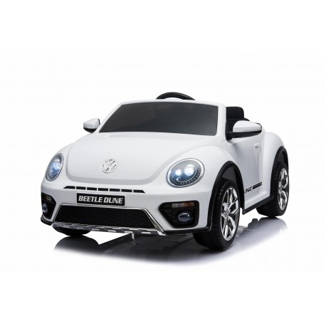 VW BEETLE DUNE 12V WHITE FULL OPTIONS PRE ORDER