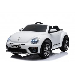 VW BEETLE DUNE 12V WHITE FULL OPTIONS PRE ORDER