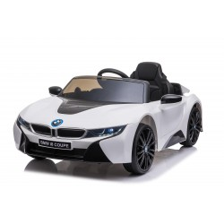 BMW I8 12V LICENSE WHITE FULL OPTIONS