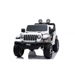 JEEP WRANGLER RUBICON 4X4 12V WHITE FULL OPTIONS PRE ORDER