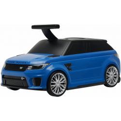 LAND ROVER SVR RIDE ON CAR PLUS SUITCASE BLUE