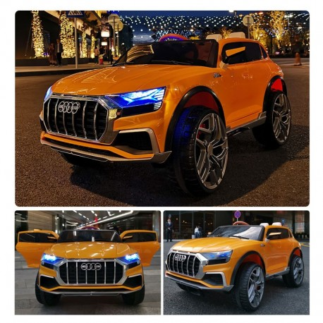 AUDI Q8 4Χ4 12V ORANGE FULL OPTIONS
