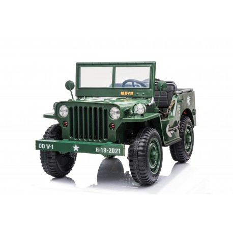 JEEP WILLYS 4X4 12V GREEN COMING SOON