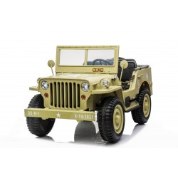 JEEP WILLYS 4X4 12V ΒΕIGE COMING SOON