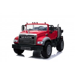 MACΚ TRACK 24V 400W LICENSE RED TWO SEATS