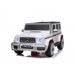 MERCEDES G63 AMG 24V 4X4 LICENSE WHITE ΤWO SEATS SOLD OUT AND COMING ΟΝ 26ΤΗ ΟF APRIL